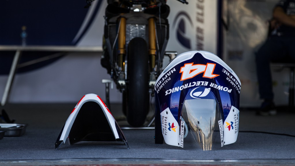 Bike Detail, Power Electronics Aspar, MotoGP Valencia Test