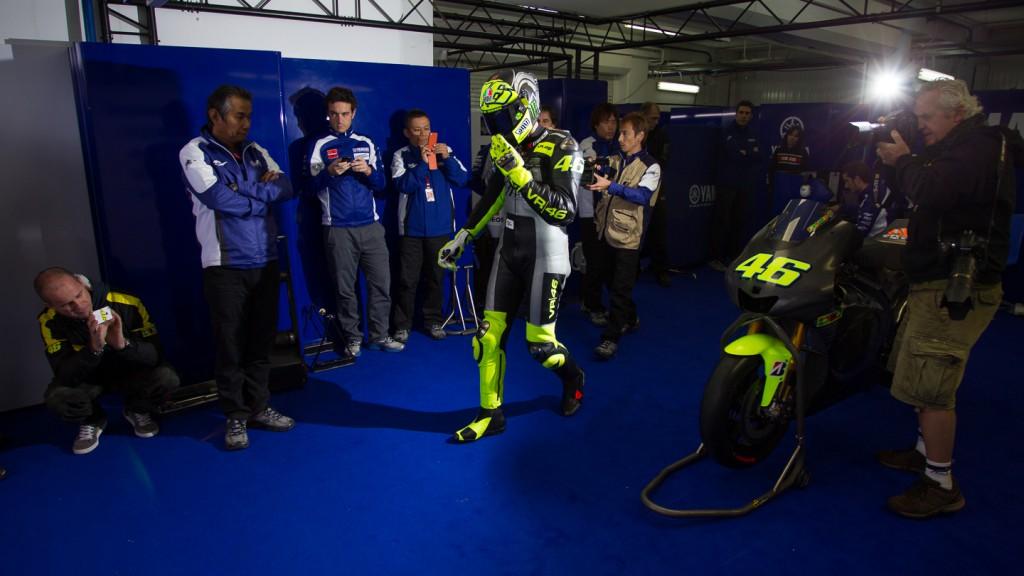 Valentino Rossi, MotoGP Valencia Test