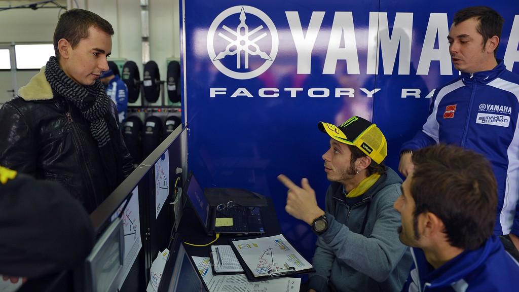 Lorenzo, Rossi, Yamaha Factory Racing