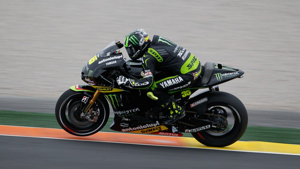Cal Crutchlow, Monster Yamaha Tech 3, MotoGP Valencia Test
