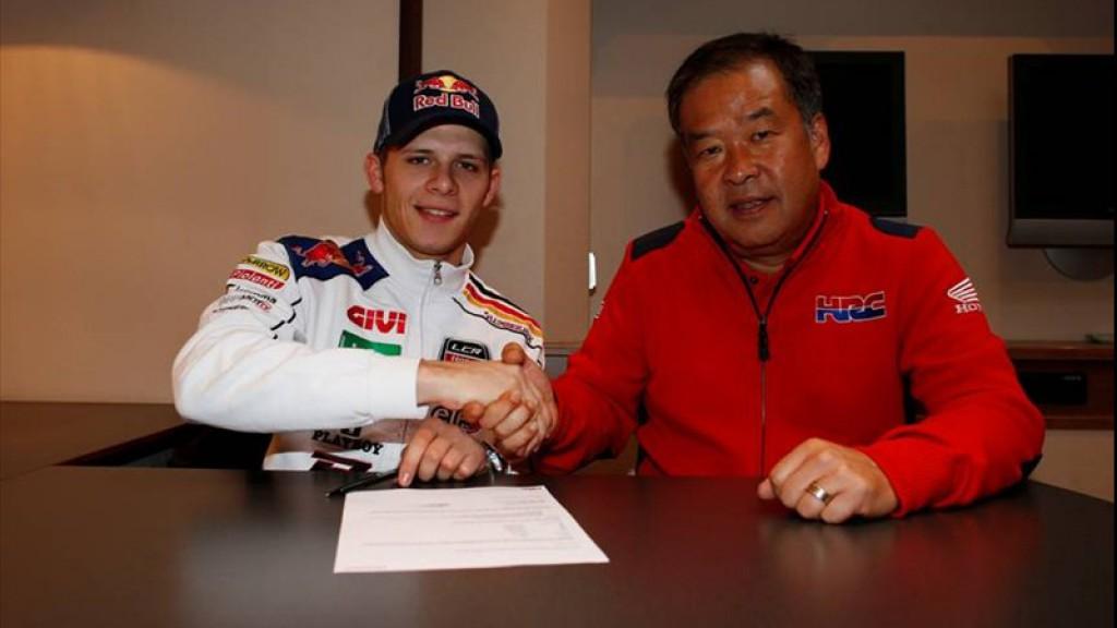 Stefan Bradl, Shuhei Nakamoto, LCR Honda MotoGP