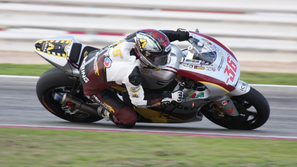 Mika Kallio, Marc VDS Racing Team, Albacete Test