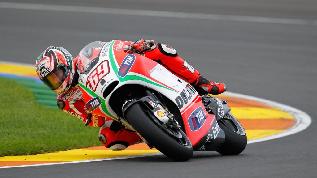 Nicky Hayden, Ducati Team, MotoGP Valencia Test