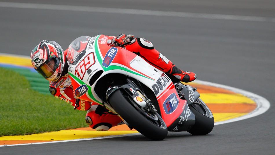 motogp.com · Nicky Hayden, Ducati Team, MotoGP Valencia Test