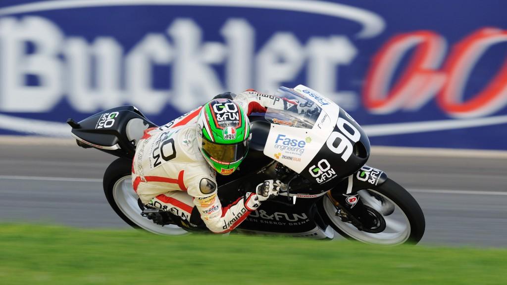 Niccolò Antonelli, Go+Fun Gresini Moto3, CEV Valencia QP