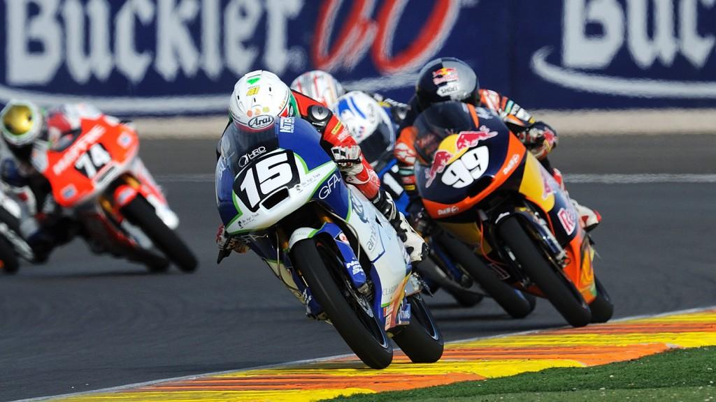 Brad Binder, Ambrogio Next Racing, CEV Valencia race
