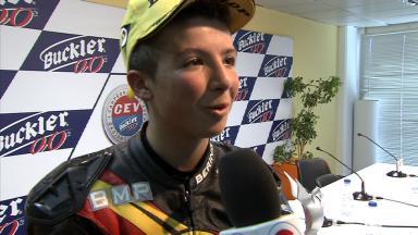 2012 - CEV - Valencia - Moto3 - Interview - Livio Loi