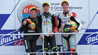 Loi, Binder, Calia, Marc VDS Team R, Ambrogio Next Racing, Team Aspar, CEV Valencia RAC
