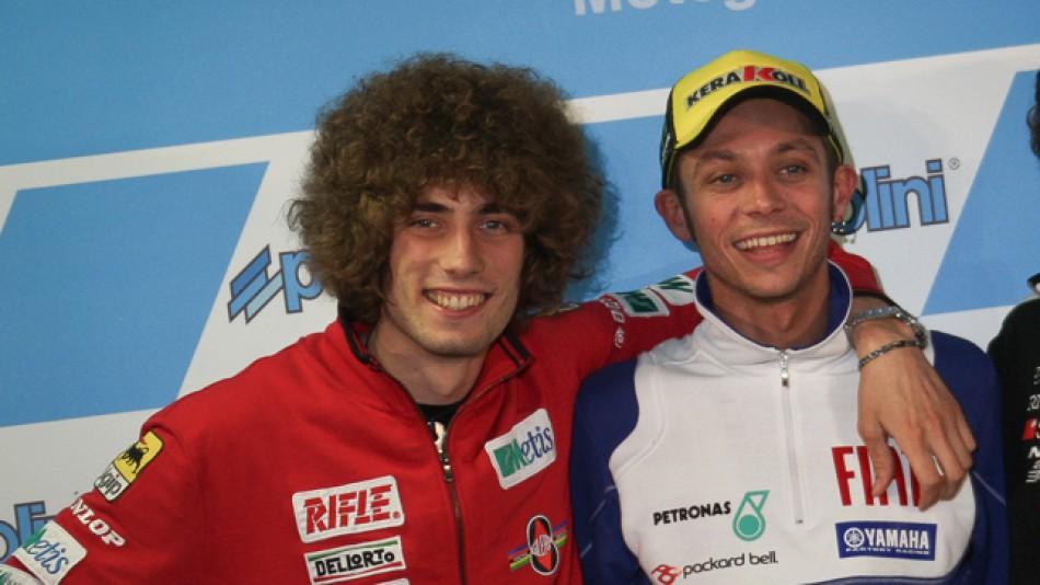 motogp.com · Marco Simoncelli, Valentino Rossi
