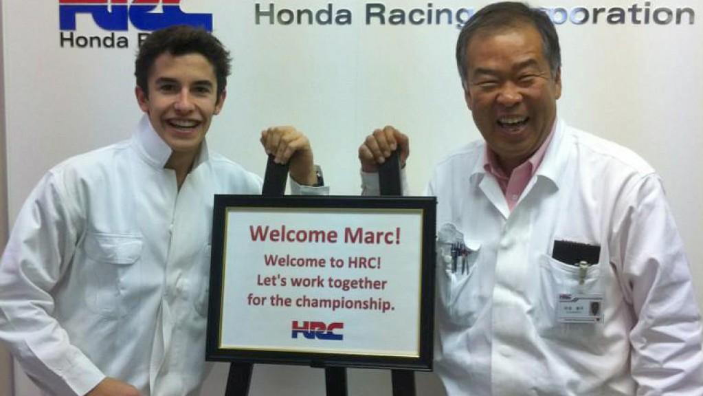 Marc Marquez, Shuhei Nakamoto, HRC