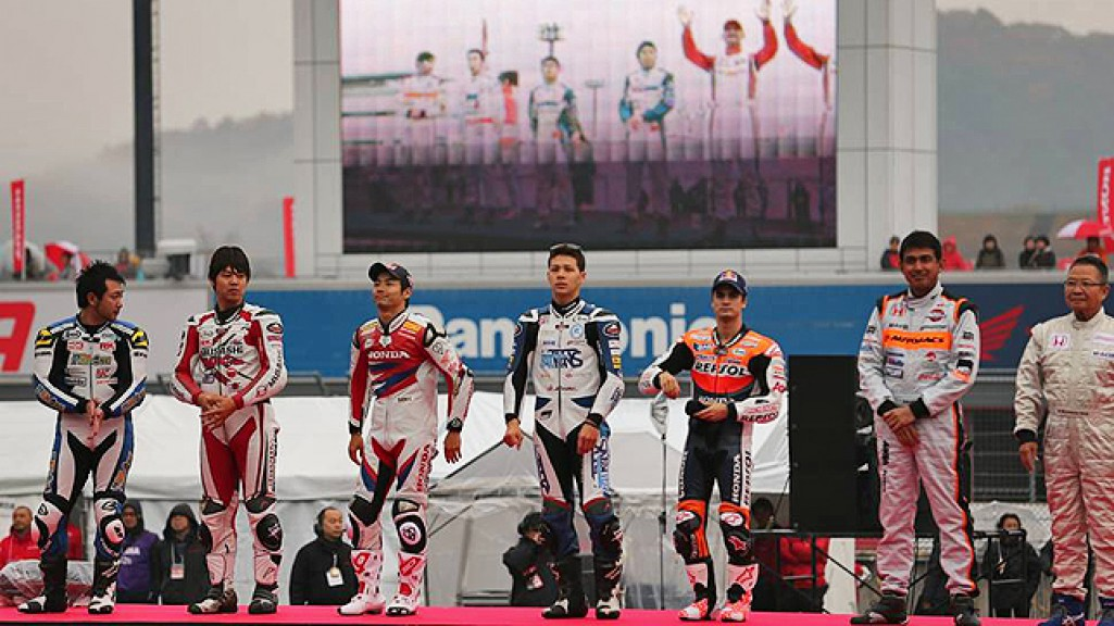 HRC riders - Twin Ring Motegi