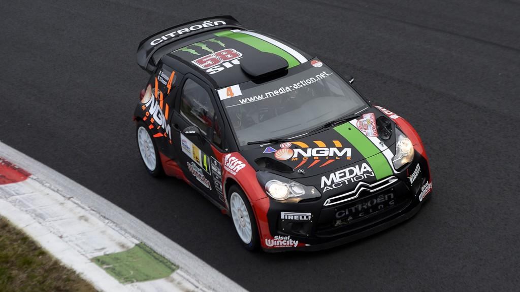 Andrea Dovizioso, 2012 Monza Rally Show