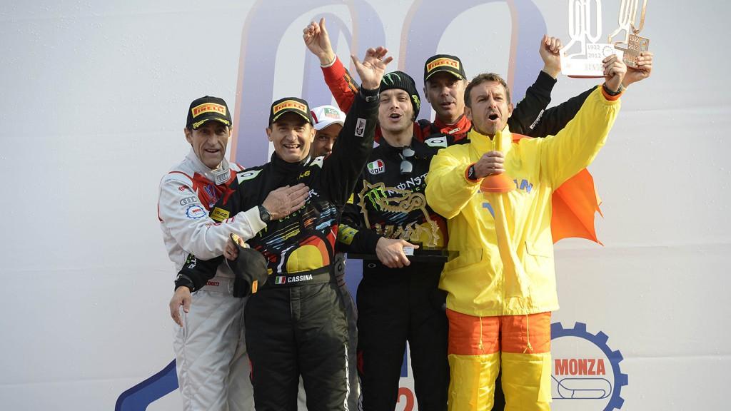 2012 Monza Rally Show Podium