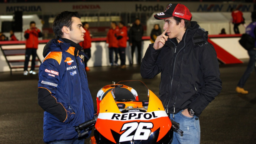 Pedrosa, Marquez, Repsol Honda Team, Twin Ring Motegi