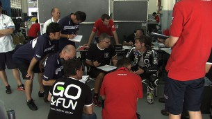 Sepang Honda Test Day 2