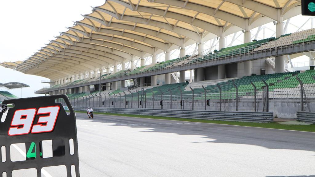 Marc Marquez, HRC Sepang Test