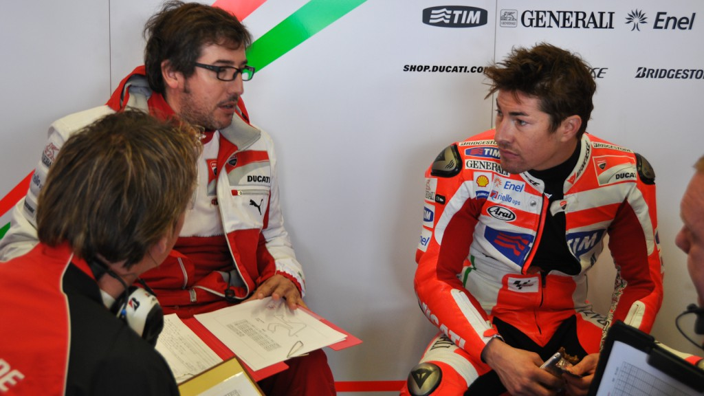 Nicky Hayden, Ducati Team, MotoGP Test Jerez