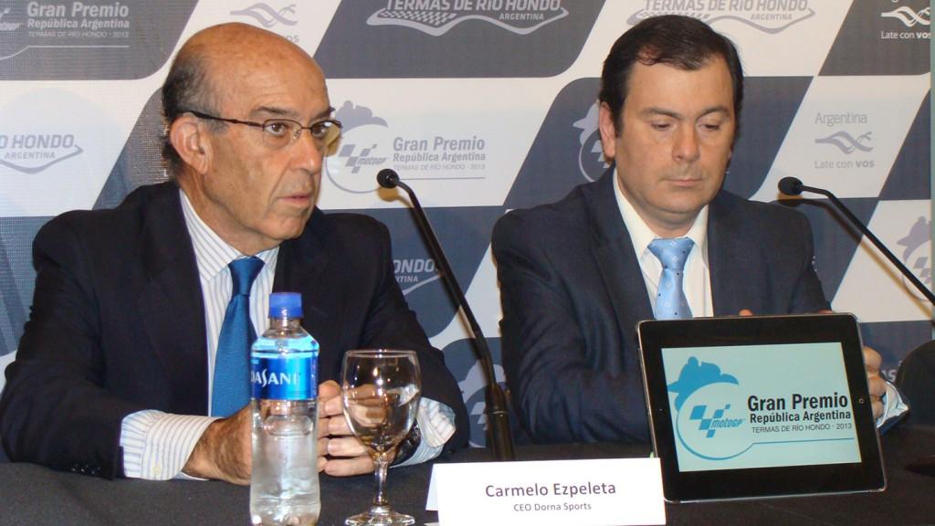 Carmelo Ezpeleta and Gerardo Zamora, Santiago del Estero Governor