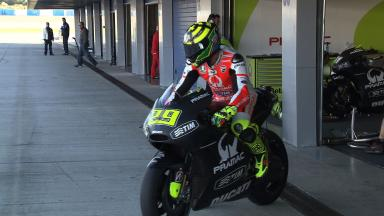 Jerez Ducati Test - Track action highlights - Day 2