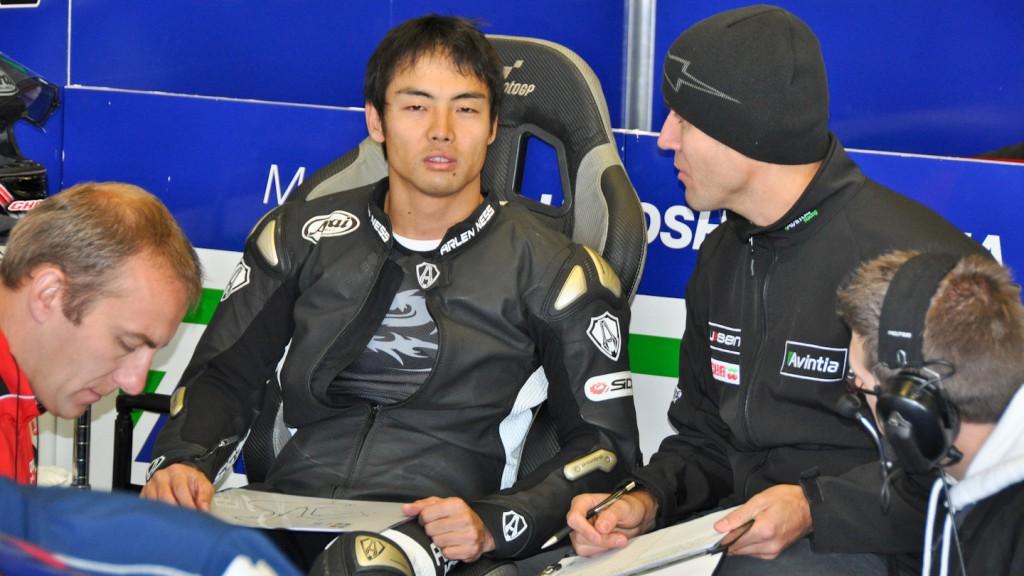 Hiroshi Aoyama, Avintia Blusens, Jerez Test
