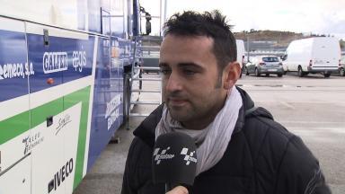 2012 - MotoGP - Jerez Test DAY 3 - Interview - Hector Barbera