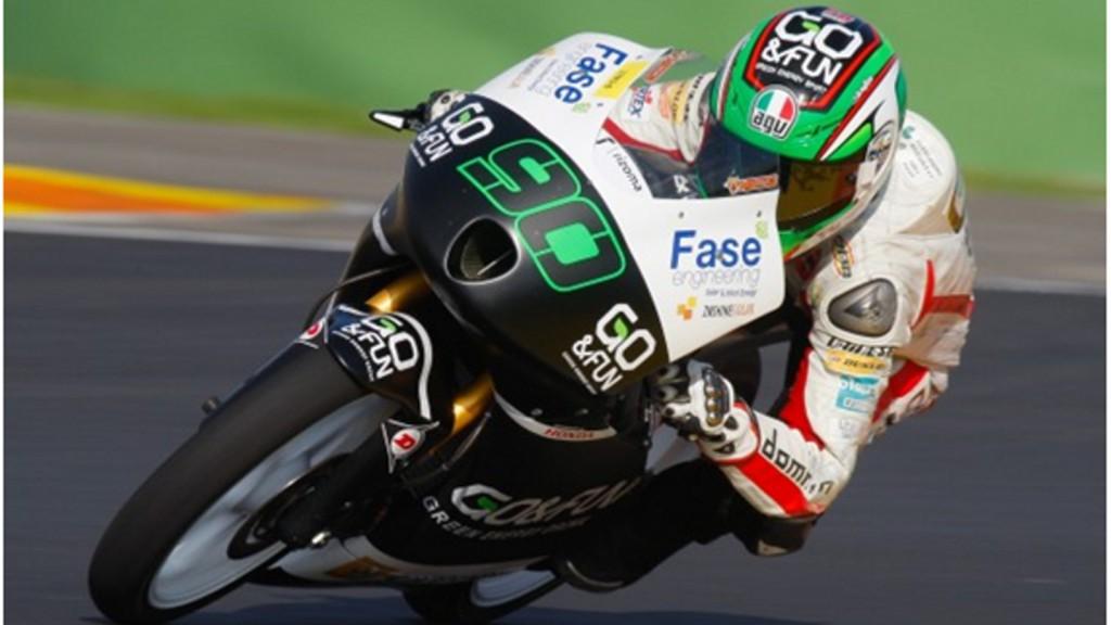 Niccolò Antonelli, Go+Fun Gresini Moto3