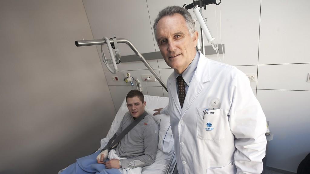 Stefan Bradl & Dr. Xavier Mir - Instituto Universitario USP Dexeus