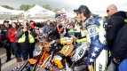 Van Den Bosch and Rossi, Il Sagittario di Latina circuit - Sic Supermoto Day