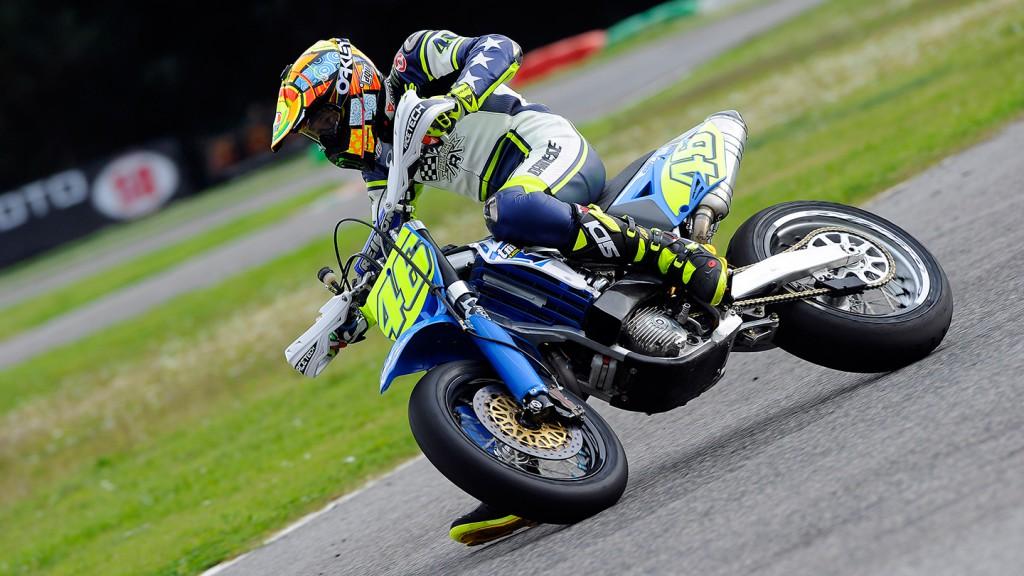 Valentino Rossi, Il Sagittario di Latina circuit - Sic Supermoto Day