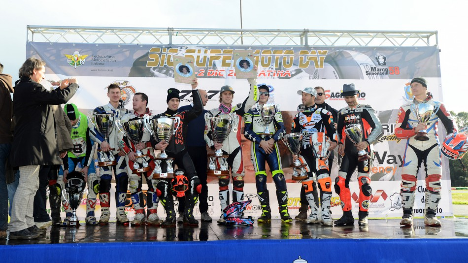 All Stars Podium, Il Sagittario di Latina circuit - Sic Supermoto Day