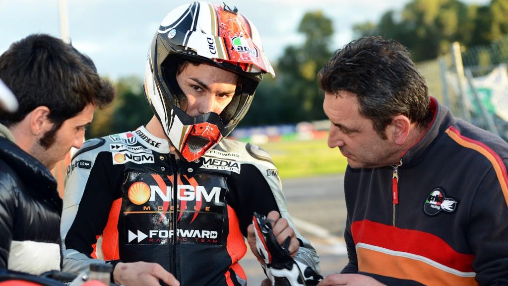 Mattia Pasini, Il Sagittario di Latina circuit - Sic Supermoto Day