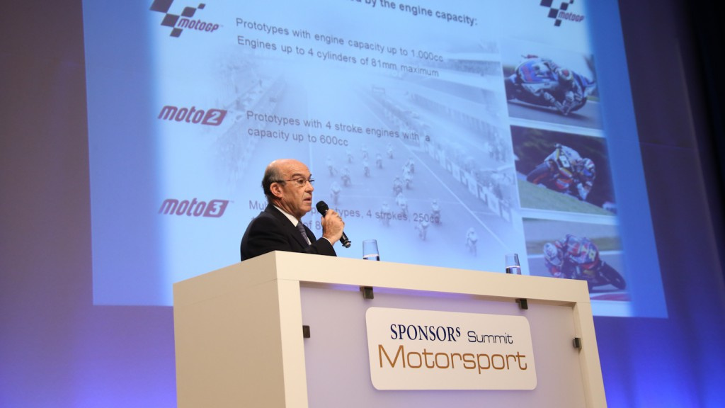 Dorna Sports CEO, Carmelo Ezpeleta, SPONSORs Motorsport Summit