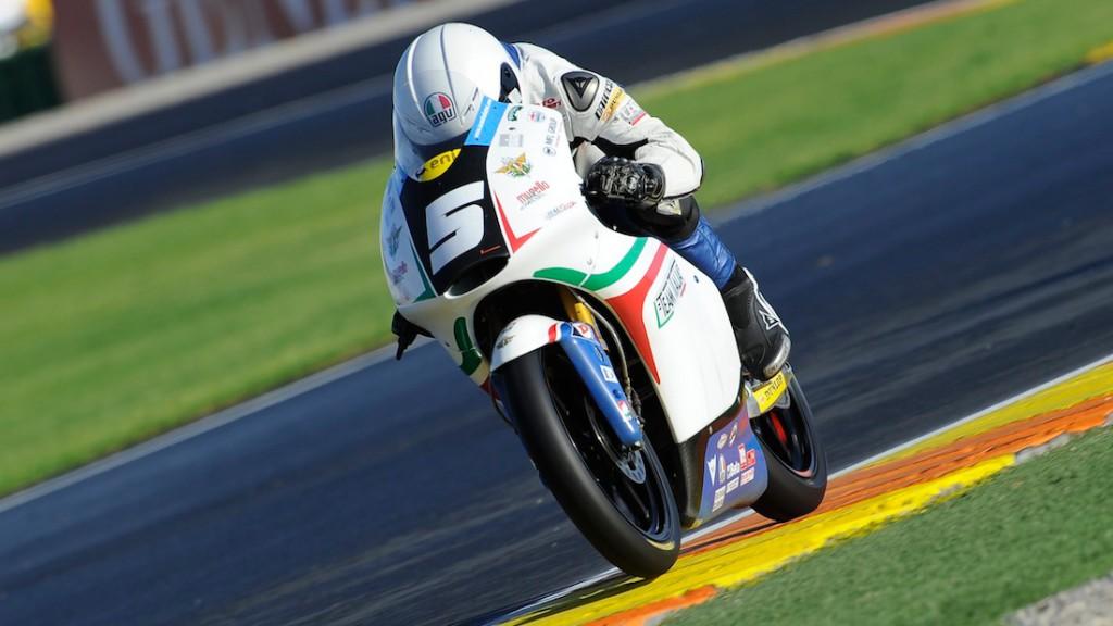 Romano Fenati, Team Italia FMI, Almeria Test