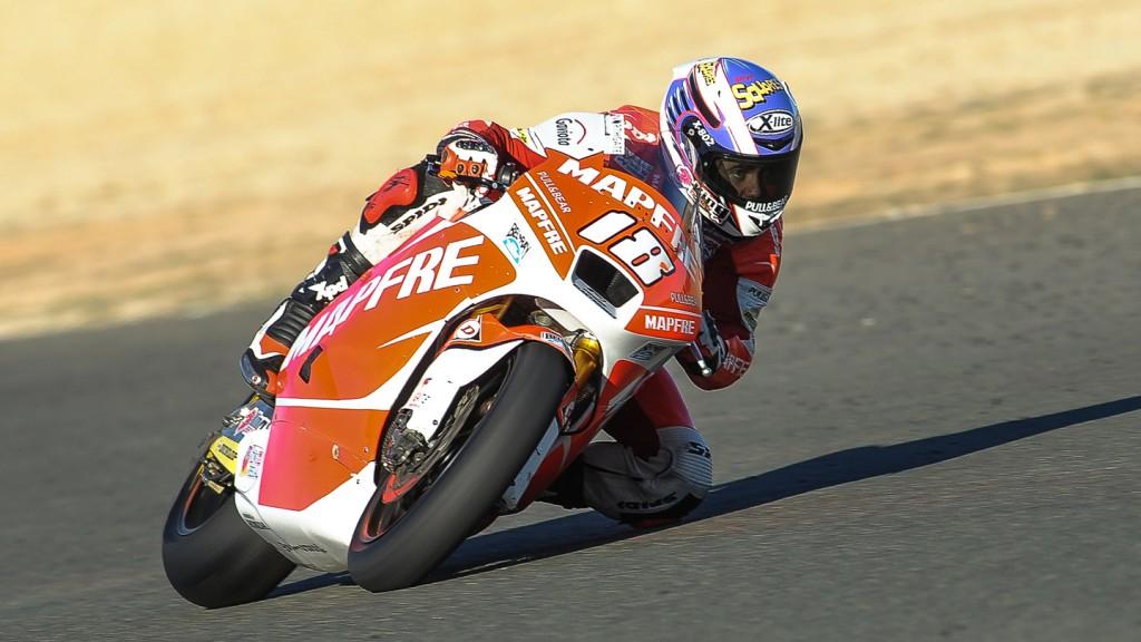 Nico Terol, Mapfre Aspar Team Moto2, Almeria Test