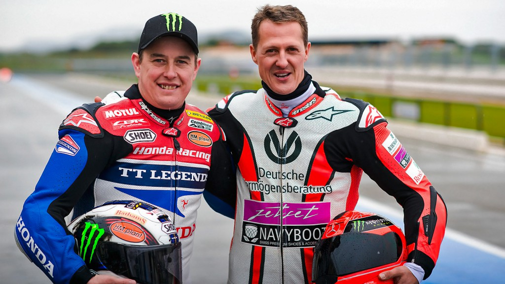 McGuinness, Schumacher - Paul Ricard Circuit