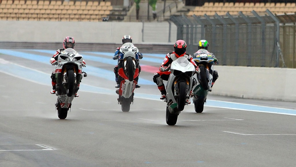 Mamola, McGuinness, Schumacher, Espargaro - Paul Ricard