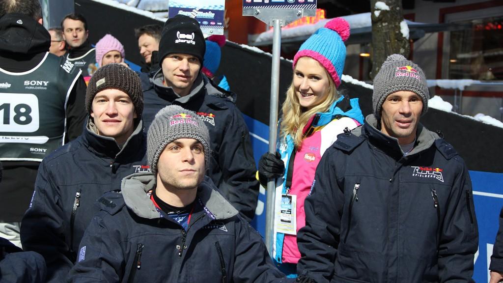 Sandro Cortese & Red Bull Team - Snow Mobile 2012