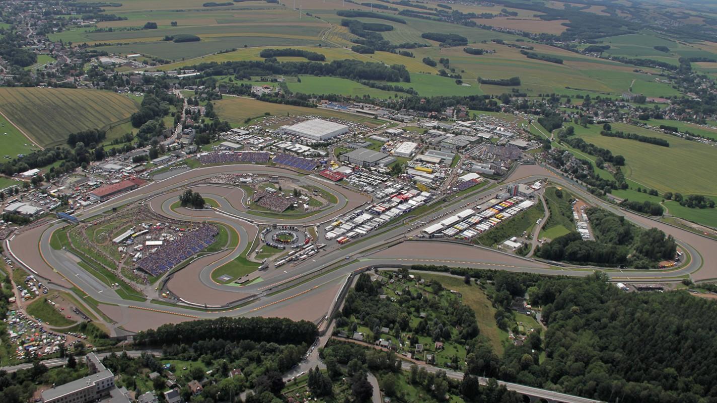 Sachsenring Circuit Map Sachsenring Circuit