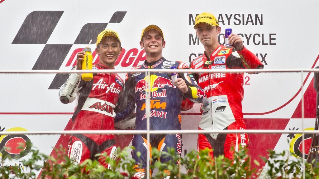Khairuddin, Cortese, Folger, AirAsia-SIC-AJO, Redbull KTM Ajo, Mapfre Aspar Team Moto3, Sepang RAC