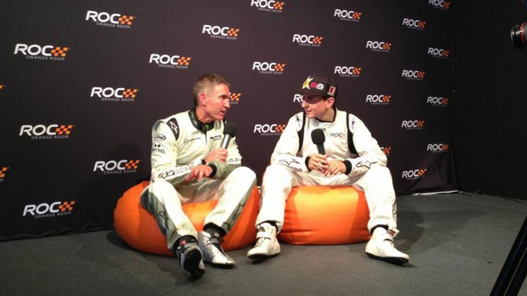 Mick Doohan & Jorge Lorenzo - 2012 Race of Champions