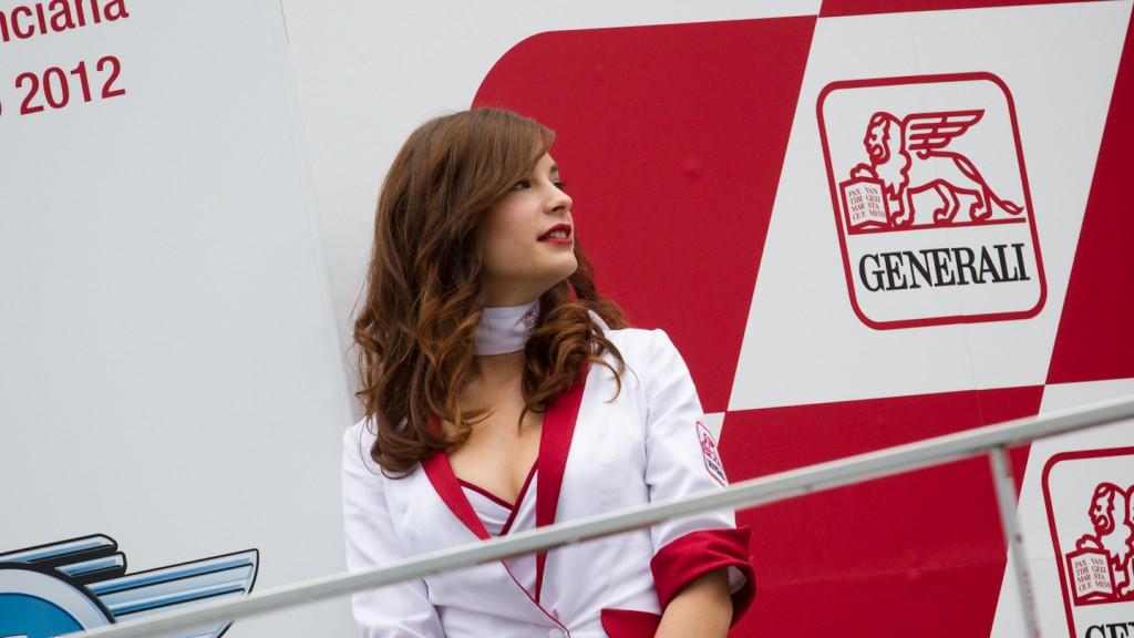 Paddock Girl, GP Generali de la Comunitat Valenciana