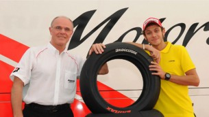 Rossi to continue as Bridgestone Tyre Development Adviser