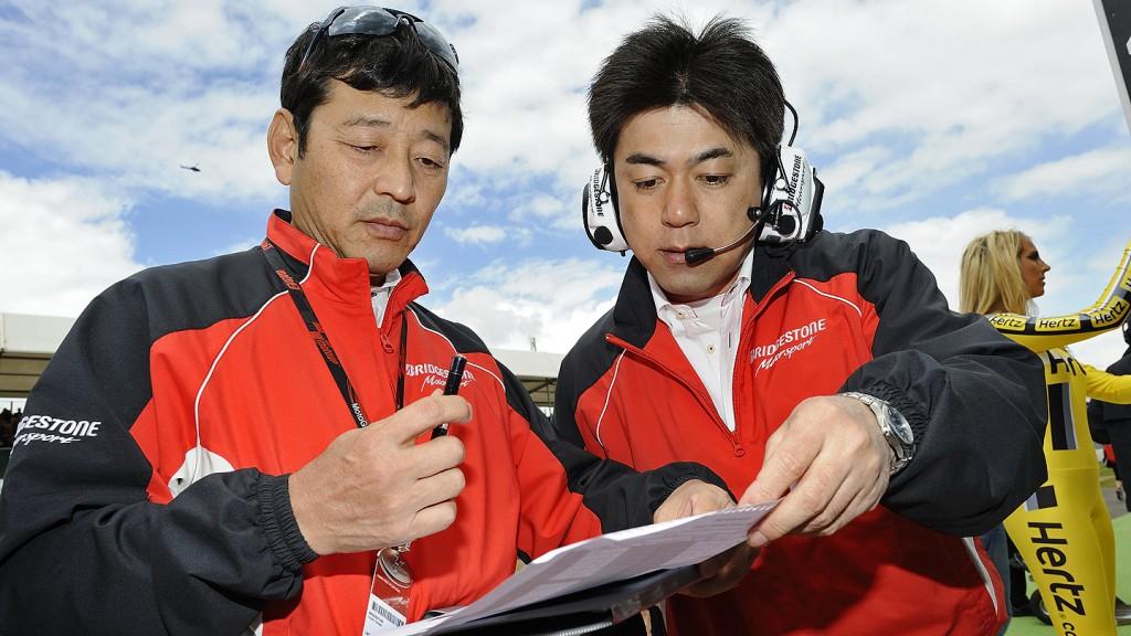 Hiroshi Yamada, Masao Azuma - Bridgestone