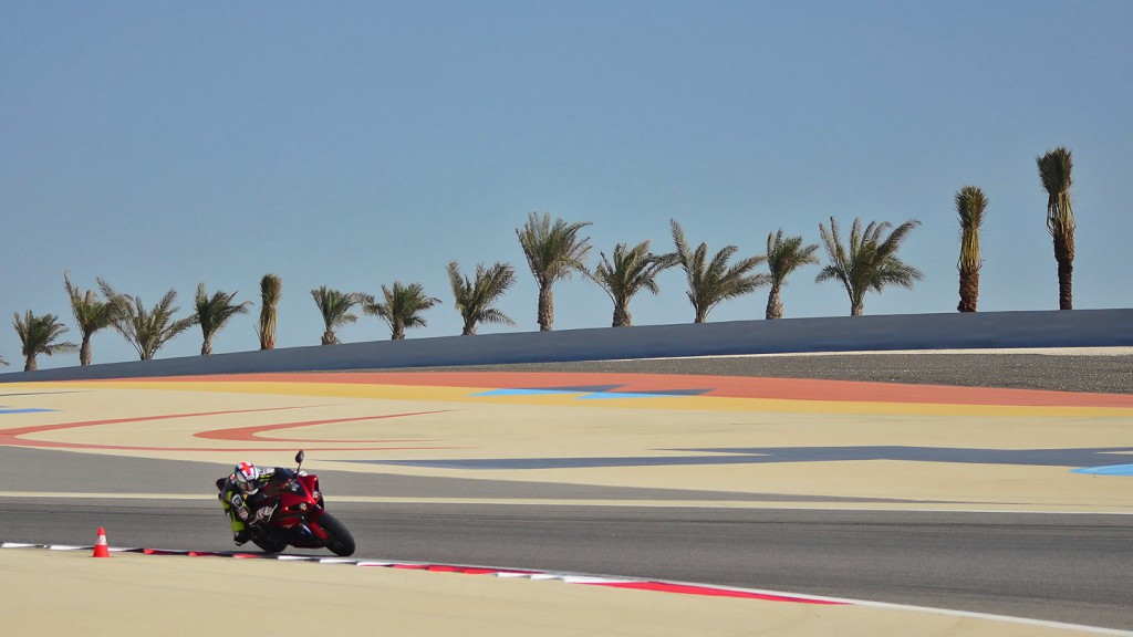 Bradley Smith,Bahrain Circuit - © Copyright Julia Oakley
