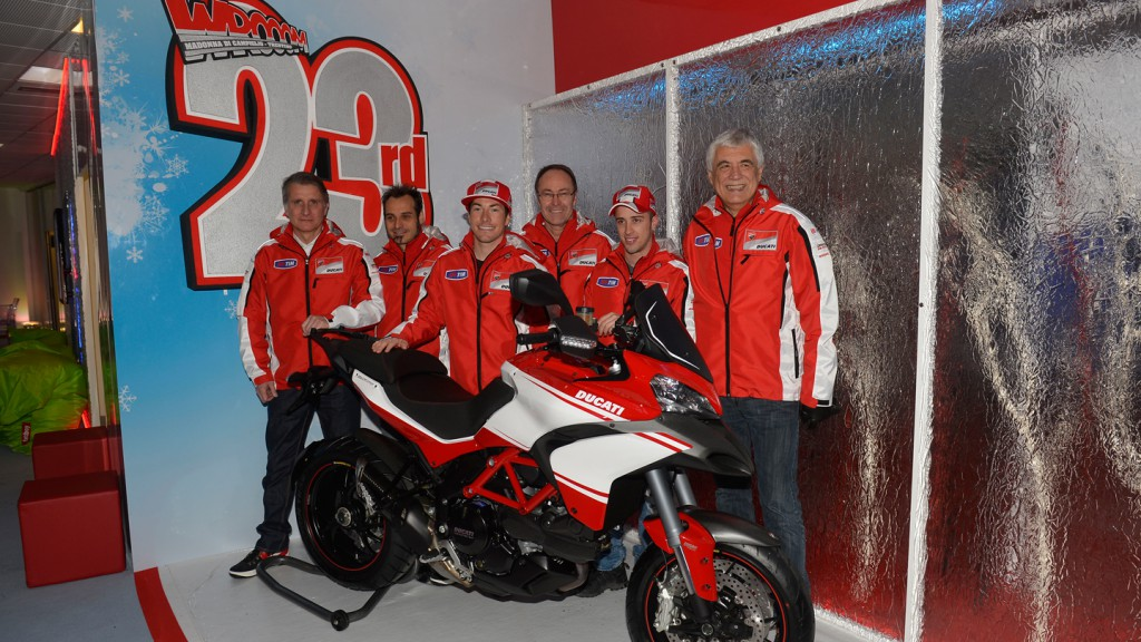 Ducati Team Riders & Management - Wrooom 2013