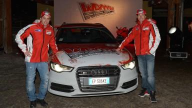 Andrea Dovizioso & Nicky Hayden, Ducati Team - Wrooom 2013