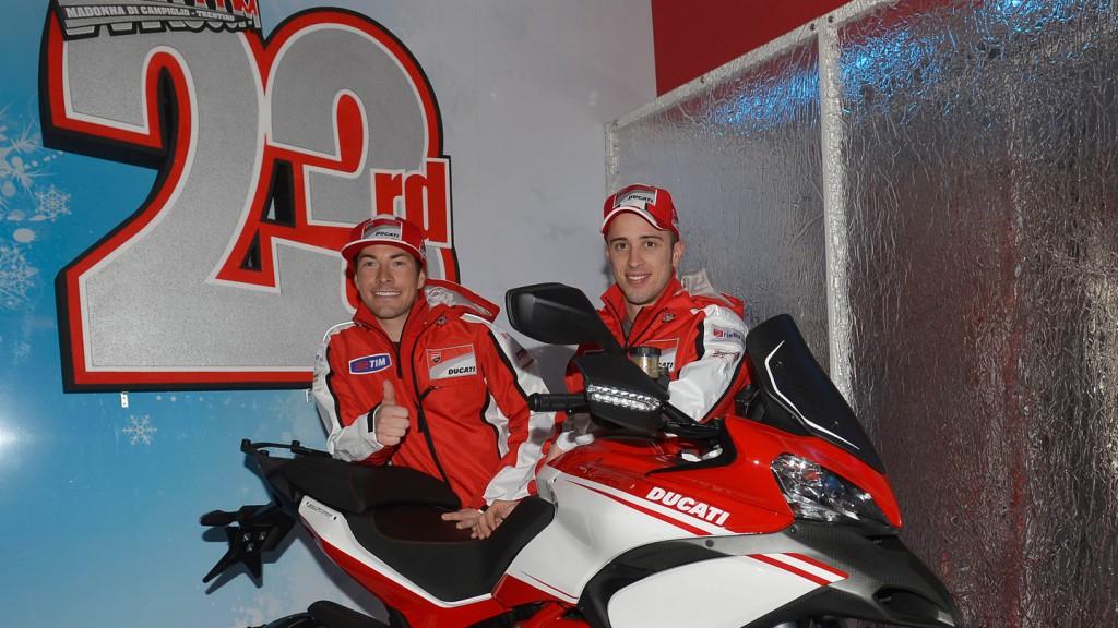 Nicky Hayden & Andrea Dovizioso, Ducati Team - Wrooom 2013
