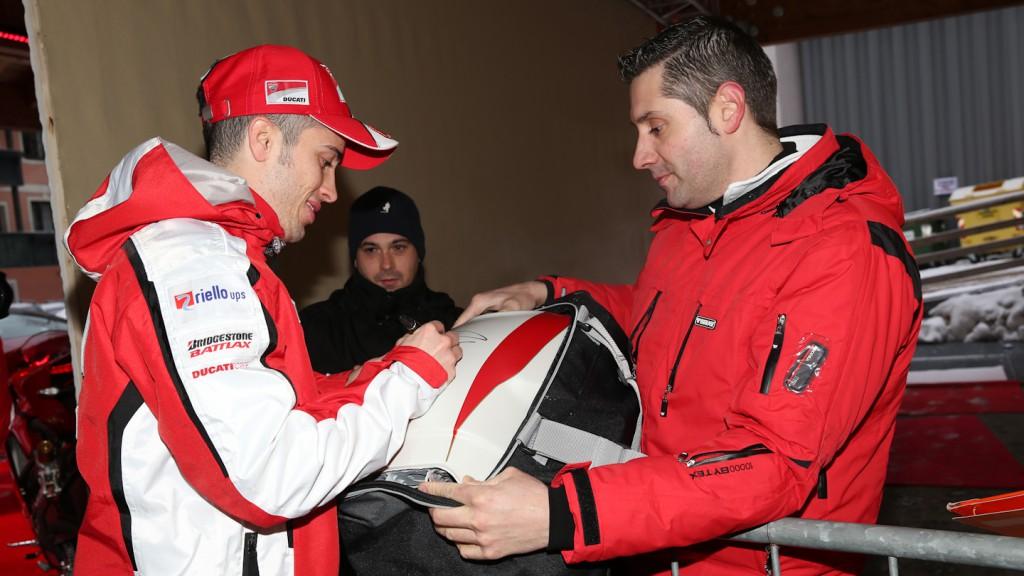 Adnrea Dovizioso, Ducati Team, Wrooom 2013