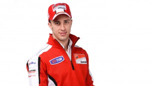 Dovizioso starts his ducati career at Wrooom