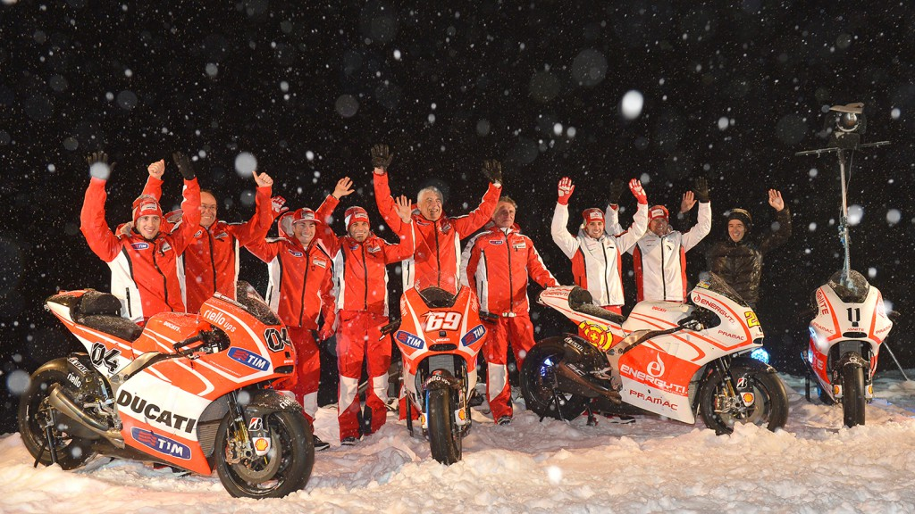 Ducati Team & Pramac Racing Team - Wrooom 2013